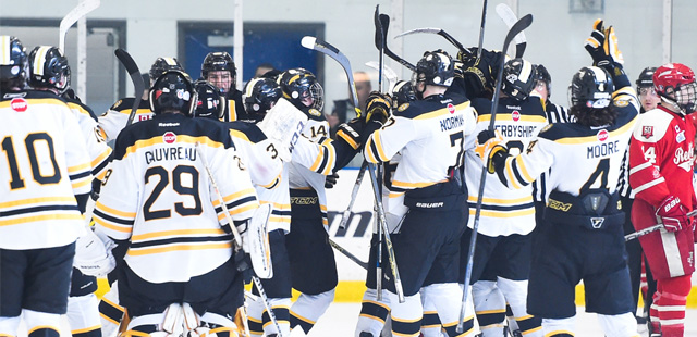 Frontenacs head home with OT victory