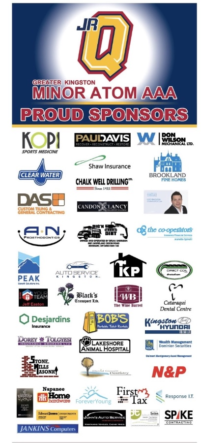 Thank you to all of our Sponsors!